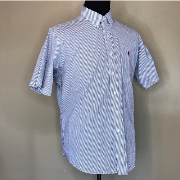 Ralph Lauren Other - Ralph Lauren | Striped Shortsleeved Shirt XL